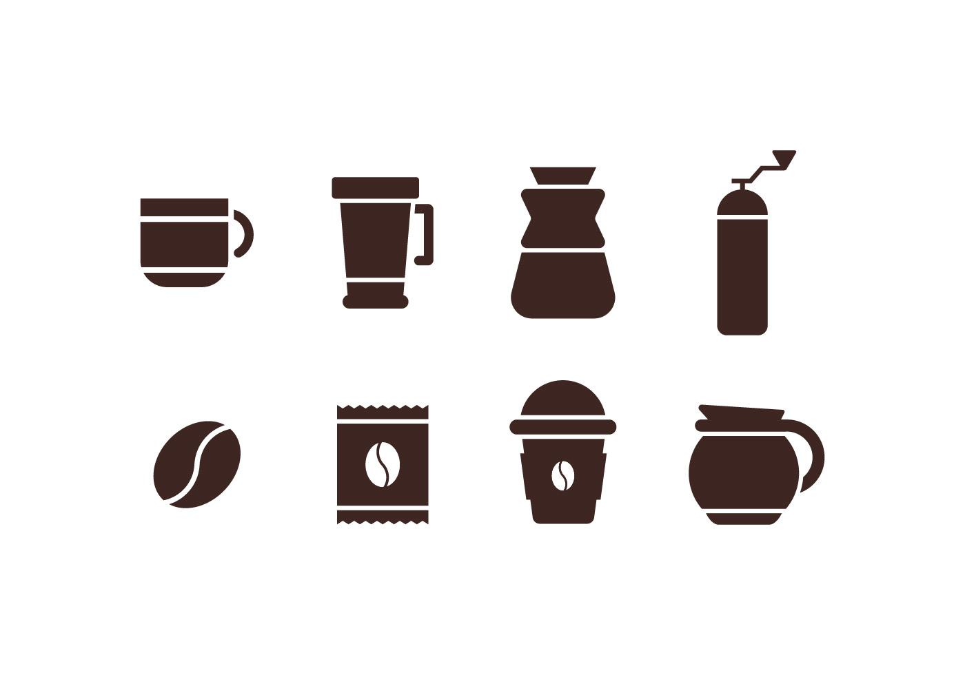 vector-coffee-maker-set-icons